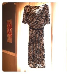 Liz Lange maternity dress Black and white large